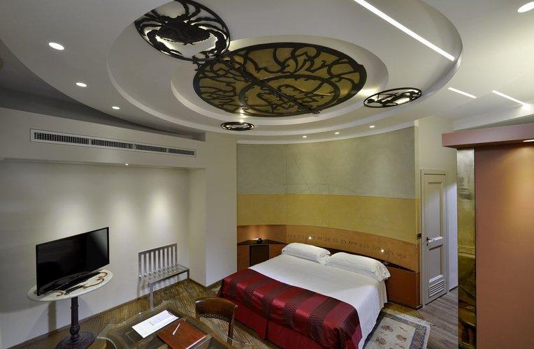 Chambre Art Hotel Commercianti Bologne, Italie