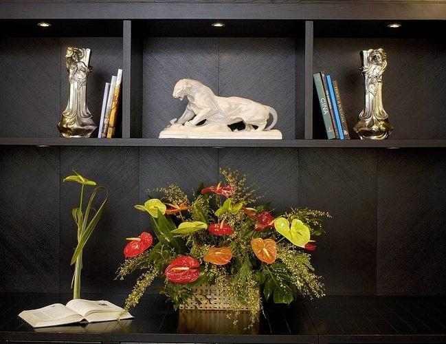 Zones communs  art hotel novecento bologne, italie