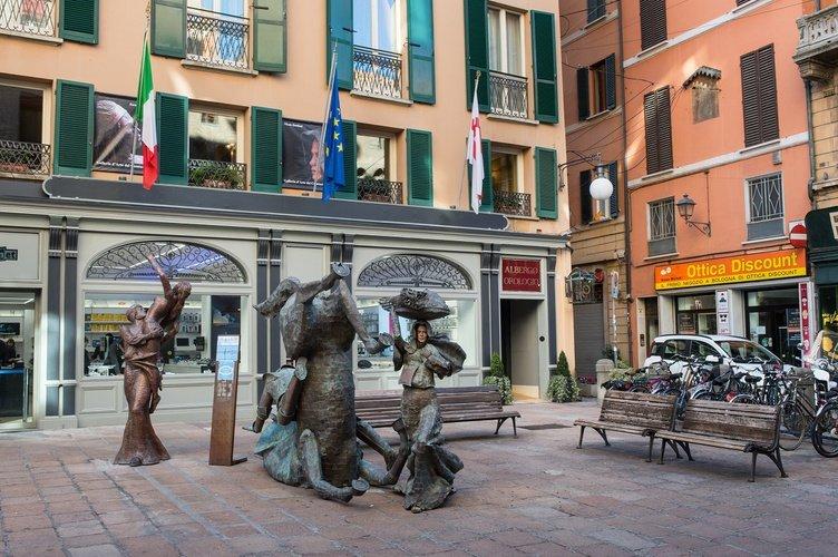 Extérieur Art Hotel Orologio Bologne, Italie