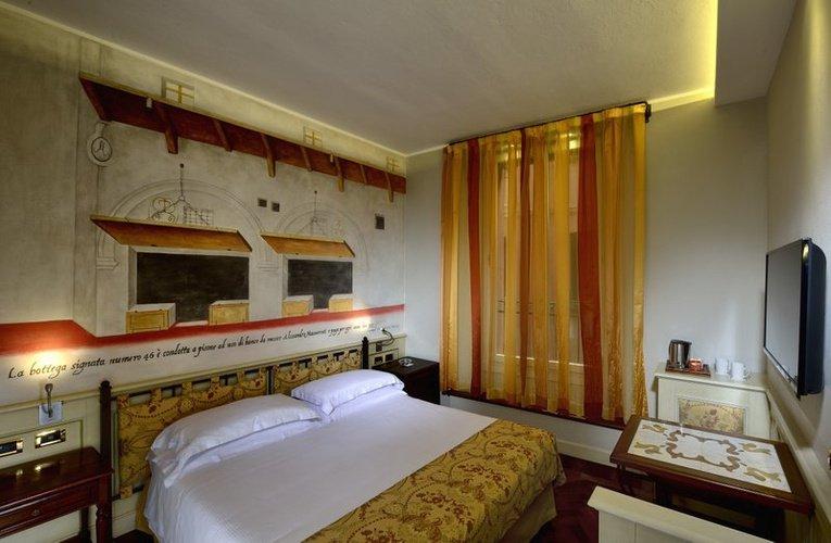 CHAMBRE DOUBLE CLASSIC Art Hotel Commercianti Bologne, Italie