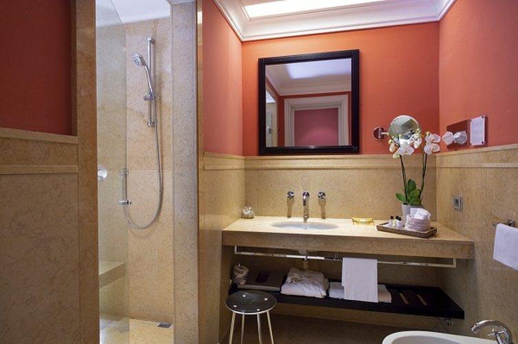 Salle de bains  art hotel novecento bologne, italie