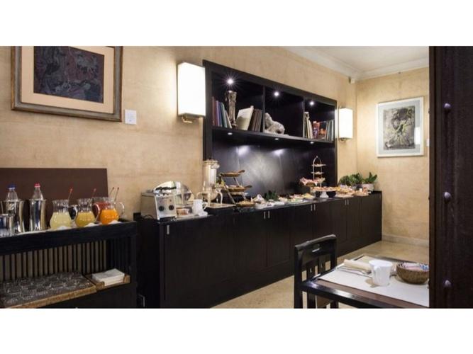 Déjeuner  art hotel novecento bologne