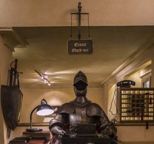 HALL Art Hotel Commercianti Bologne, Italie