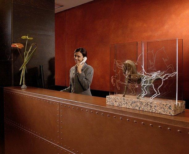 Réception  Art Hotel Novecento Bologne, Italie