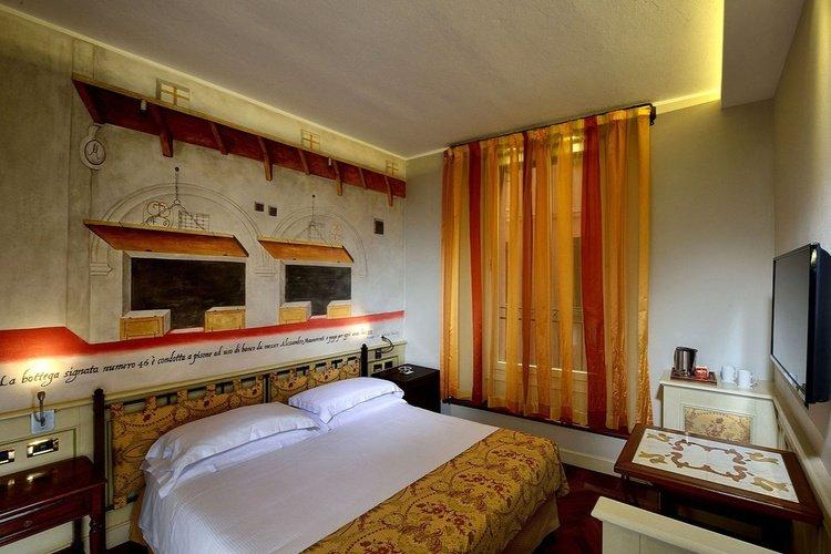 Chambre double  art hotel commercianti bologne