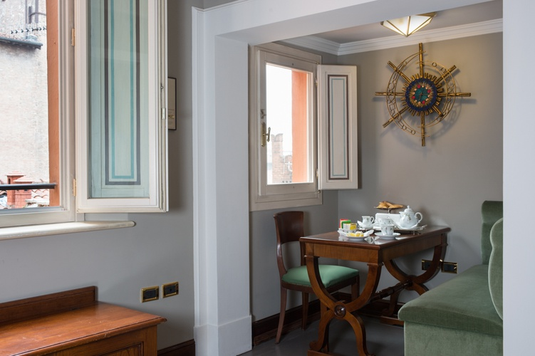 Chambre deluxe  art hotel orologio bologne