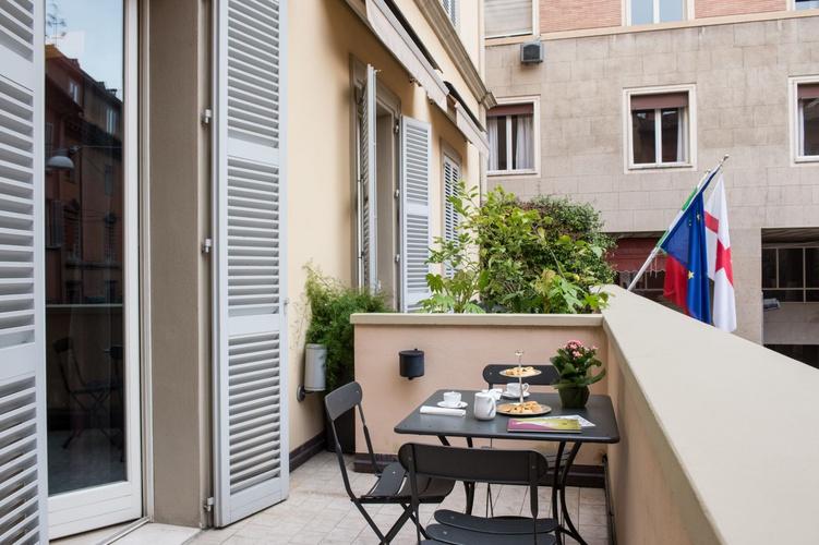 Terrasse  art hotel novecento bologne