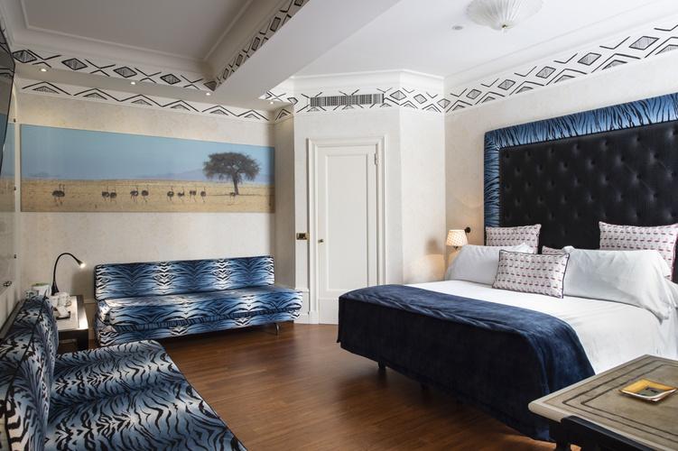 Chambre  art hotel orologio bologne