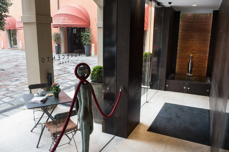 Entrée  art hotel novecento bologne
